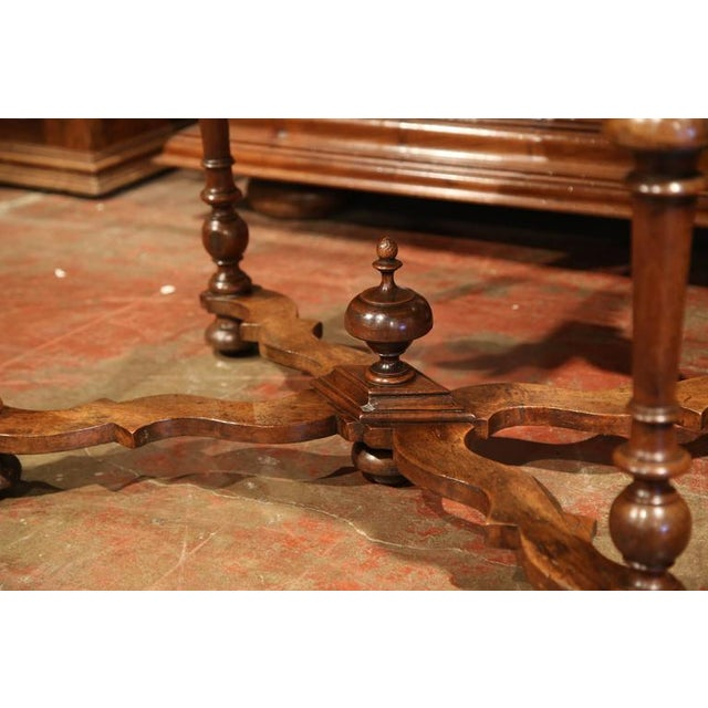 Late 18th Century French Walnut Side Table For Sale - Image 10 of 10