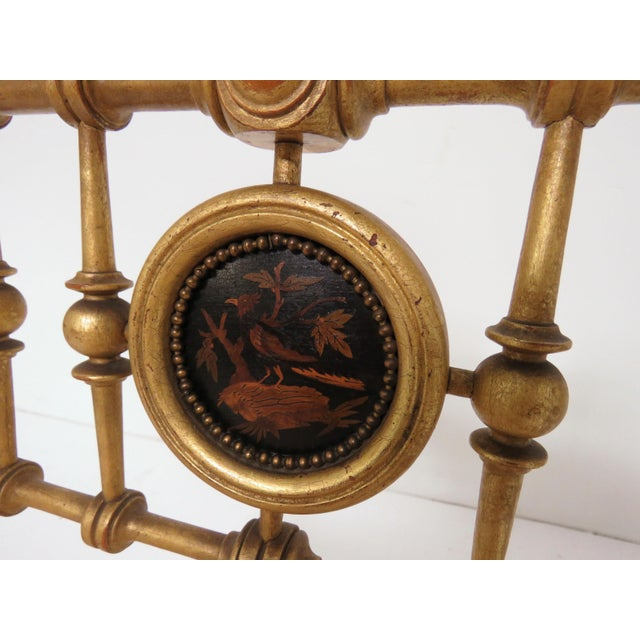 Late 1800s American Aesthetic Movement Giltwood Slipper Chair For Sale In Boston - Image 6 of 13