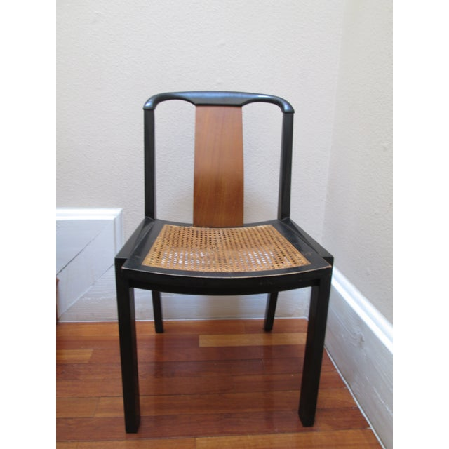 This chair is a Michael Taylor design for Baker Furniture. It was part of the Far East Collection and accompanied a...