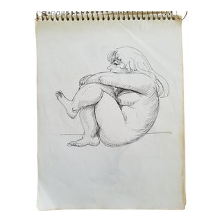 Female Nude Drawing For Sale