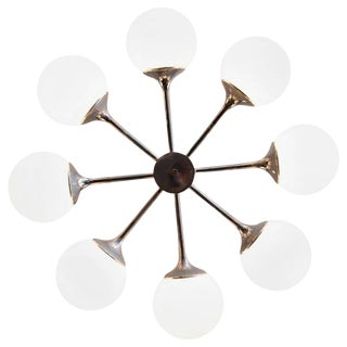 Sputnik Style Chandelier by Lightolier For Sale