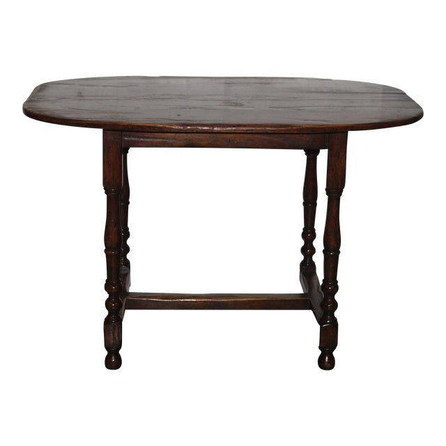 English Country Walnut Table - Image 1 of 5