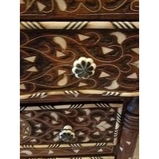 Syrian Mother-Of-Pearl Walnut Wood Chest of Drawers Preview