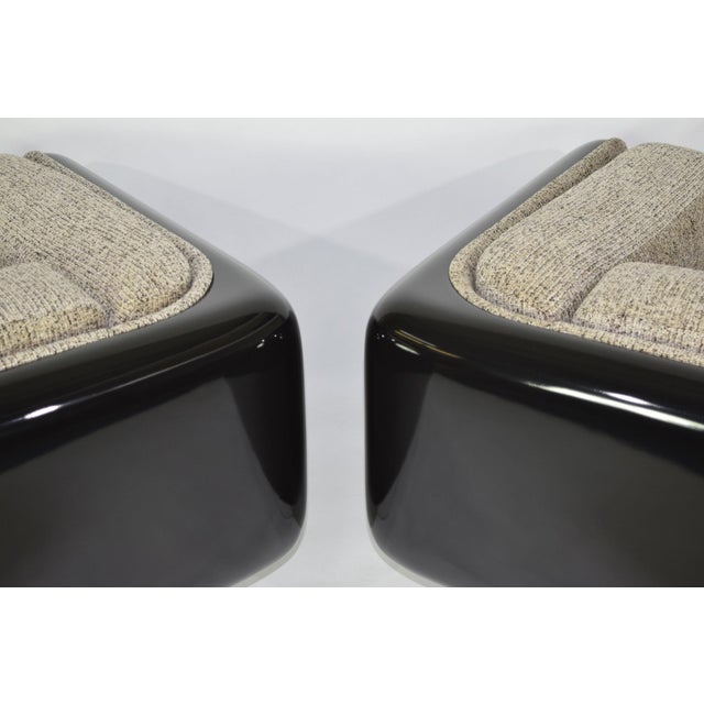 Pair of William Andrus for Steelcase Lounge Chairs - Image 5 of 10