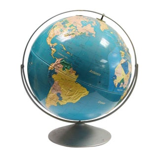 Early 21st Century Vintage Globe For Sale