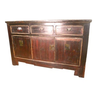 Antique Chinese Ming Sideboard