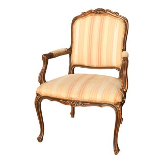 20th Century French Bergere Chair For Sale