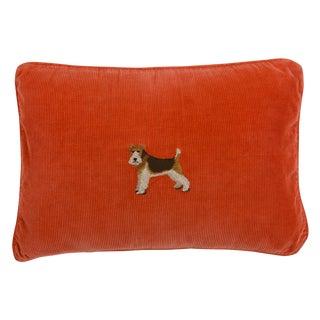 Vintage Ralph Lauren Corduroy Throw Pillow