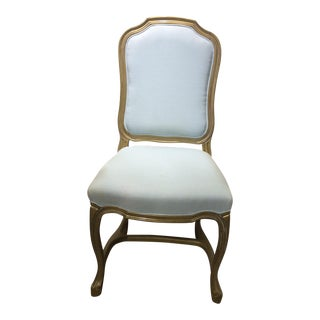 Upholstered Pompadour Side Chair
