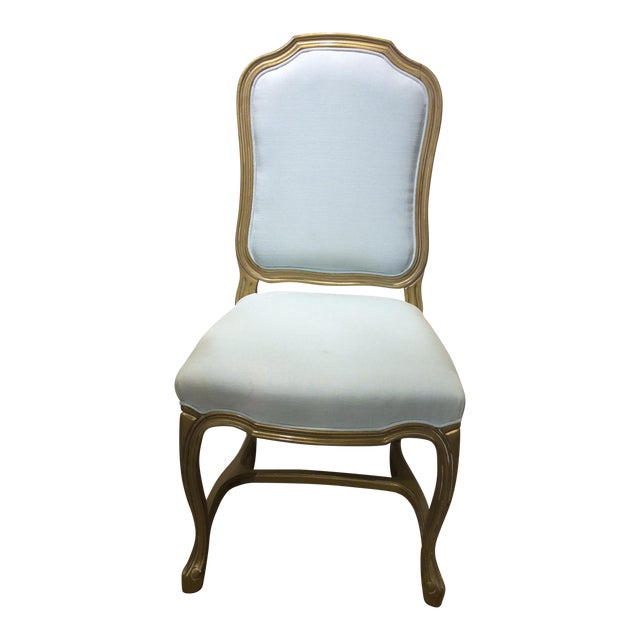 Upholstered Pompadour Side Chair - Image 1 of 5