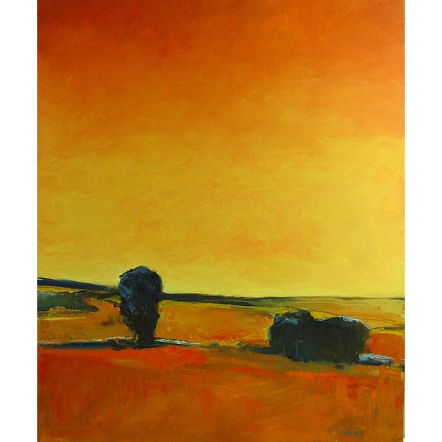 Warm Sky Painting by B. Woosley For Sale