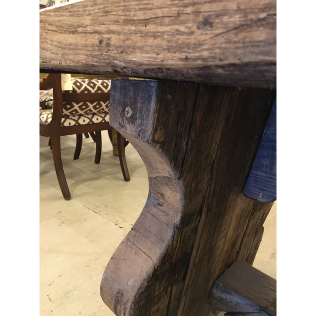 Primitive Spanish TABLE - Image 7 of 9