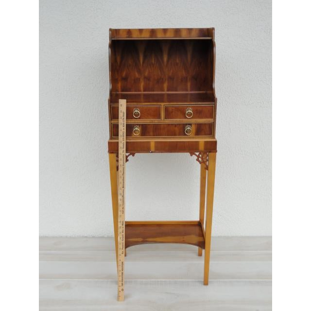 Baker Furniture Small Entryway Console Table Cabinet For Sale - Image 12 of 13