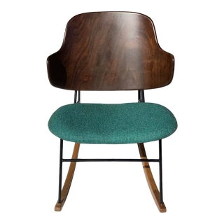 1960s Ib Kofod Larsen Penguin Rocker For Sale