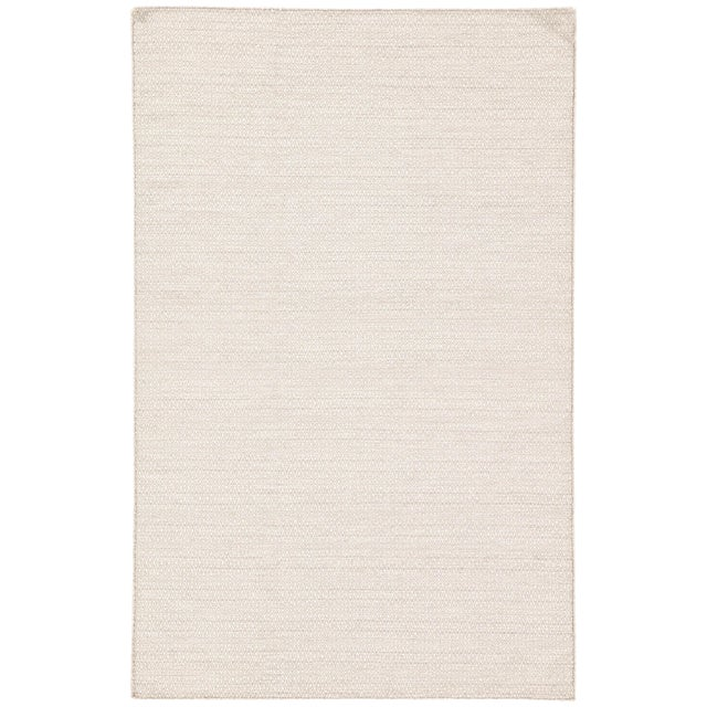 Jaipur Living Eulalia Handmade Geometric Ivory Area Rug - 8′ × 10′ For Sale