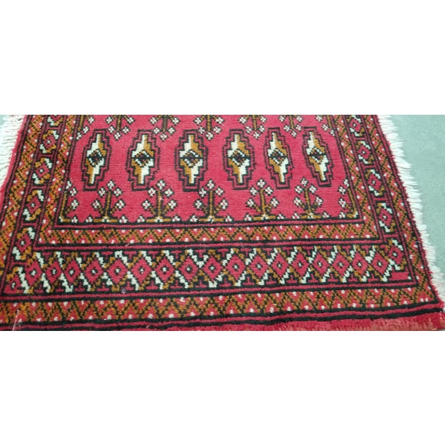 1950s Vintage Persian Rug - 1′8″ × 3′2″ For Sale - Image 4 of 10