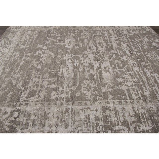 "Apadana - 21st Century Contemporary Indian Rug, 7'8"" x 9'9"" For Sale - Image 5 of 7"