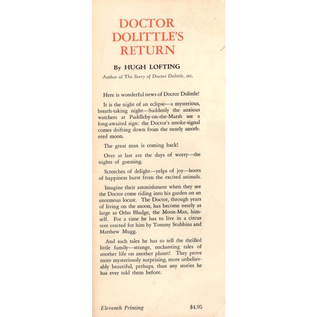 Doctor Dolittle's Return For Sale - Image 5 of 5