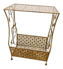 Image of Gold Outdoor Side Tables