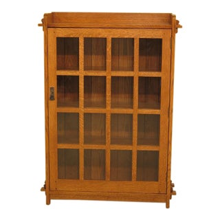 Stickley Mission Oak Arts & Crafts Bookcase