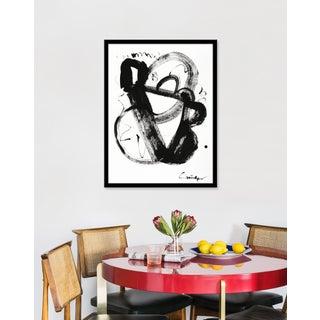 """Medium """"Noir Et Blanc Nombre 3"""" Print by Lesley Grainger, 23"""" X 31"""" Preview"""