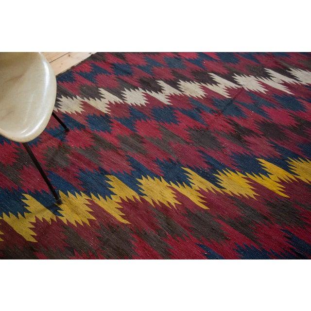 "Vintage Kilim Carpet - 6'4"" X 9'10"" - Image 6 of 6"