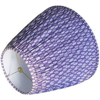 Purple Pleated Lamp Shade Preview