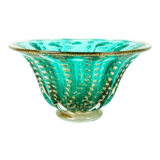 Midcentury Murano Glass Decorative Piece / Bowl For Sale