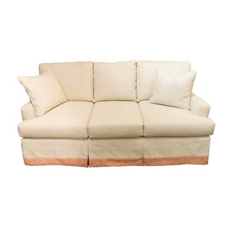Cr Laine 3 Seat Track Arm Sofa For Sale