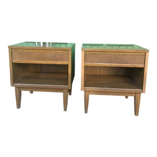 1960s Mid Century Nightstands by Kroehler - a Pair For Sale
