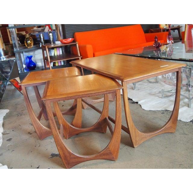 Modern Danish Style Nesting Tables- Set of 3 - Image 3 of 7