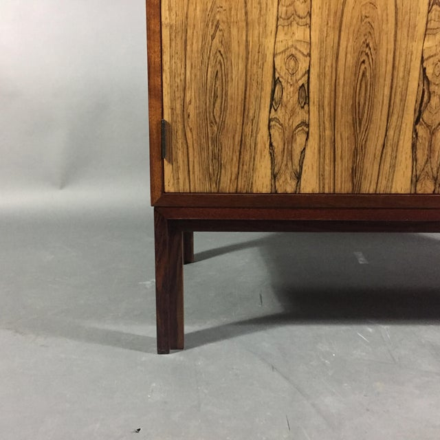 Wood Kai Kristiansen Rosewood Cabinet, Denmark 1960s For Sale - Image 7 of 11
