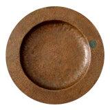 Image of Antique Hammered Copper Bowl For Sale