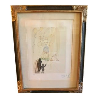 Divine Comedy Print by Salvador Dali For Sale
