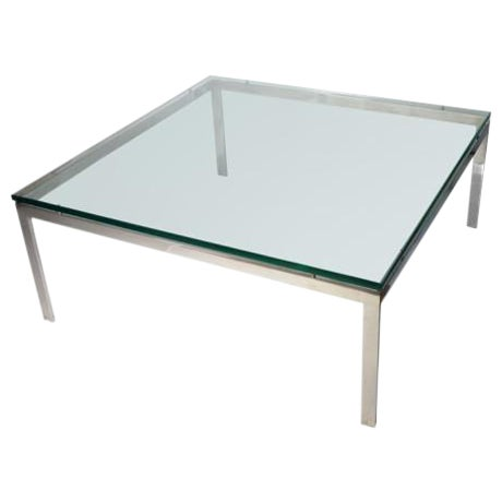 Square Coffee Table by John Vesey For Sale