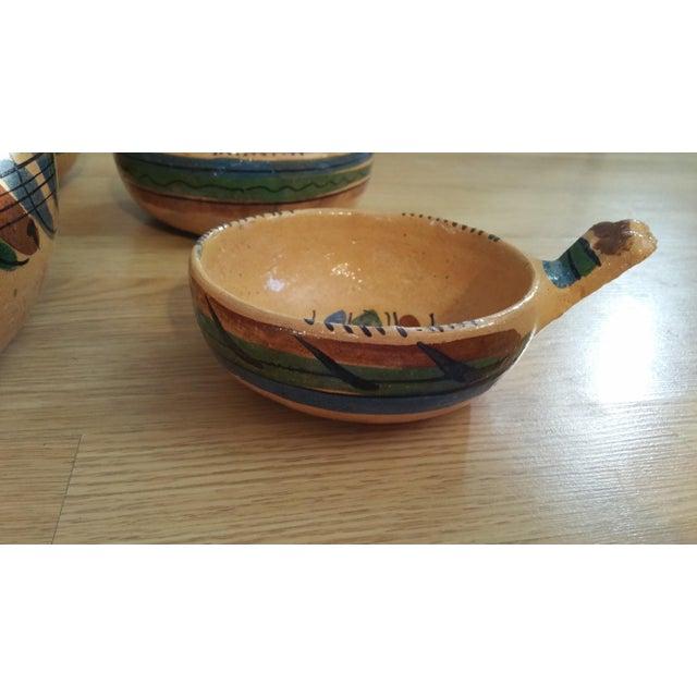 Mexico Tlaquepaque Nesting Chili Bowls - Set of 4 - Image 3 of 8