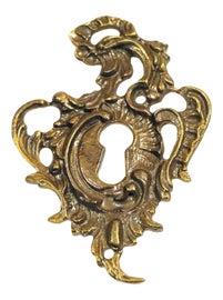 Image of Gold Keyhole Plates