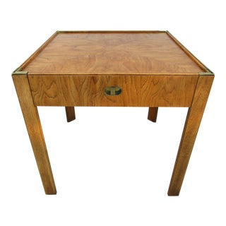 Mid-Century Modern Preface Collection Drexel Side Table For Sale