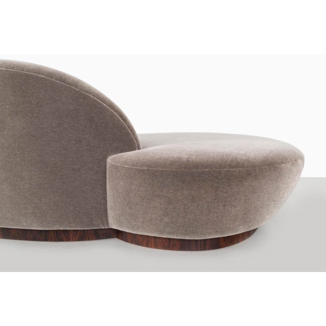 Wood Vladimir Kagan for Directional Cloud Sofa For Sale - Image 7 of 10