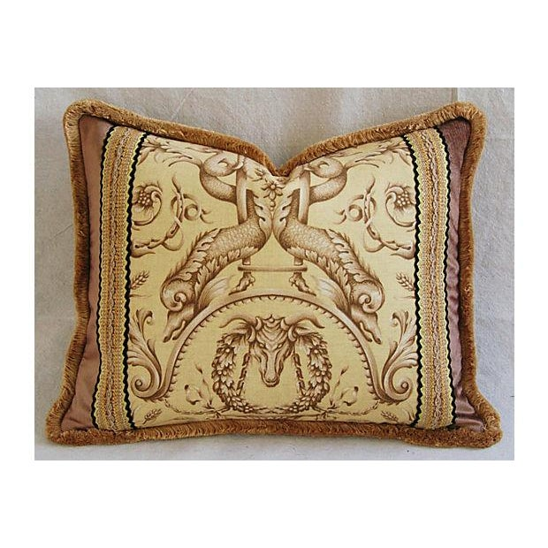 Designer Braemore Mythical Creature Accent Pillow - Image 2 of 7
