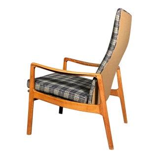 Ole Wanscher Teak Armchair, France & Søn, Denmark 1950s For Sale