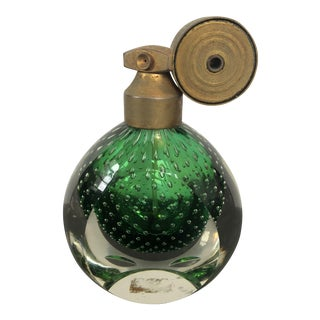 Vintage French Art Glass Atomizer Perfume