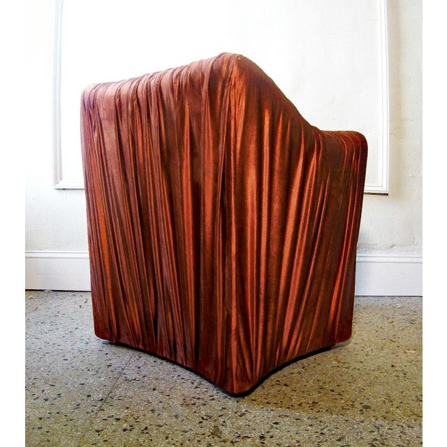 """Cassina 1970s Mario Bellini for Cassina """"Tentazione"""" Chairs - a Pair For Sale - Image 4 of 7"""