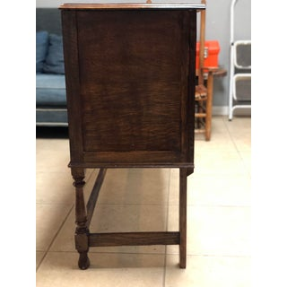 1800's English Walnut Sideboard Preview