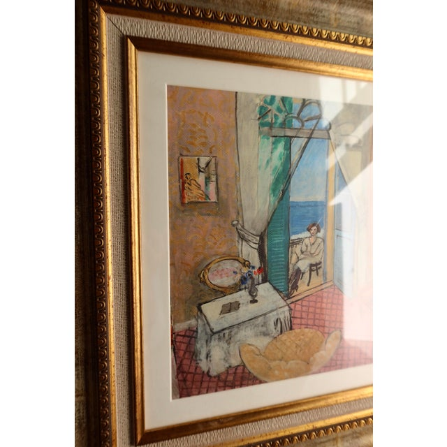 Art Deco Interior at Nice by Matisse - Rinoarts Production Print For Sale - Image 3 of 7