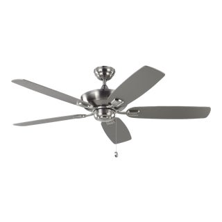 """Monte Carlo 52"""" Colony Max in Brushed Steel For Sale"""