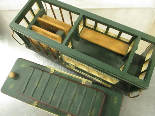 Vintage San Francisco Cable Car Large Display Store Model   Image 3 Of 7