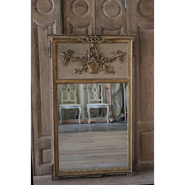 Mid-20th Century Trumeau Style Mirror - Image 2 of 6