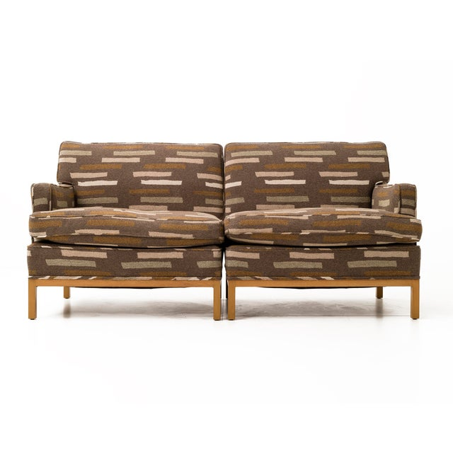 Robsjohn seating with great scale, sofa/daybed consists of three pieces plus a pillow that can be arranged in several...