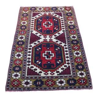 Oriental Turki̇sh Wool Rug - 2′8″ × 4′
